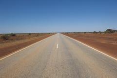 дорога страны бесконечная Стоковые Фото