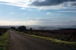 дорога страны открытая Стоковая Фотография RF