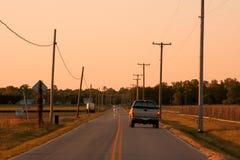 дорога страны открытая Стоковое фото RF