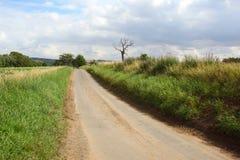 дорога страны тихая Стоковое Фото
