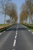 дорога страны d oise val Стоковое фото RF