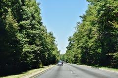 Дорога США положения Мэриленда местная Стоковое Изображение