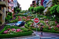 Дорога США Сан-Франциско Стоковые Изображения RF