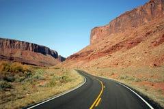 дорога США Стоковая Фотография