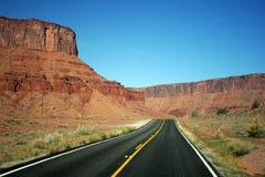 дорога США Стоковые Изображения