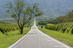 Дорога с никто стоковое фото