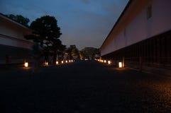 Дорога с светами Стоковые Фото