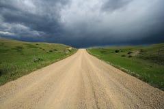 дорога темноты к Стоковое Изображение