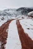 дорога Тибет к Стоковое Фото