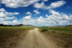 дорога Тибет Стоковые Изображения