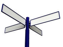 дорога указателя Стоковые Изображения RF