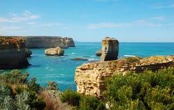 Дорога ущелья Lorch Ard, большая океана, Австралия. Стоковое Изображение RF