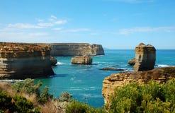 Дорога ущелья Lorch Ard, большая океана, Австралия. Стоковая Фотография RF