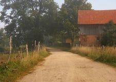 дорога фермы Стоковые Изображения