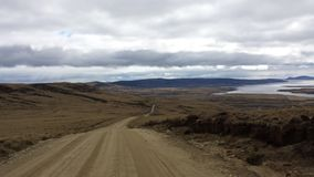 Дорога Фолклендских островов типичная стоковое фото rf