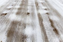 Дорога, фото конца-вверх Стоковое фото RF