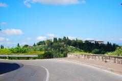 Дорога Флоренция Стоковые Фото