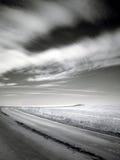 дорога холма к Стоковое Фото