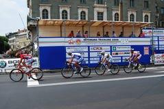 дорога чемпионатов задействуя Стоковое фото RF