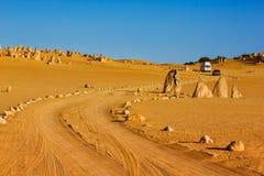 Дорога через башенкы Стоковая Фотография RF