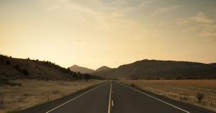 Дорога через прерию Стоковые Изображения RF