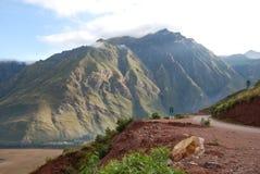 Дорога через священнейшую долину Стоковые Фотографии RF