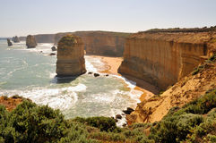 дорога 12 океана Австралии апостолов большая Стоковые Изображения