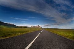 дорога Стоковые Фотографии RF