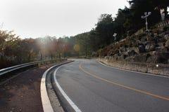 дорога 2 Корея южная Стоковые Изображения RF