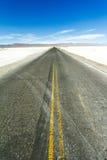 Дорога Alphalt в горы Стоковая Фотография RF