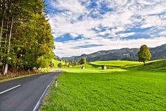 дорога alps стоковая фотография rf