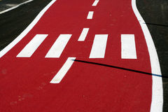 дорога bike Стоковое Изображение