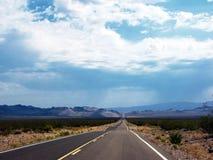 дорога california бесконечная Стоковые Фотографии RF