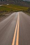 дорога california countty Стоковая Фотография