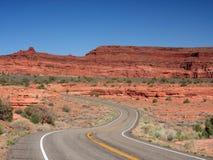 дорога canyonlands Стоковая Фотография RF