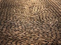 дорога cobble Стоковое Изображение RF