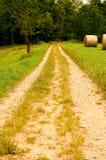 Дорога Coutry Стоковые Изображения RF