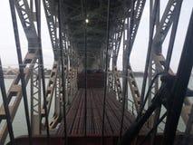 Дорога cum железнодорожный мост стоковые изображения