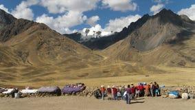 дорога cusco к Стоковые Изображения RF