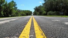 дорога fl болотистых низменностей к Стоковое фото RF