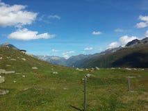 Дорога Furka, швейцарец Альпы Стоковые Фото
