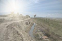 Дорога Mollerussa Стоковое Изображение RF
