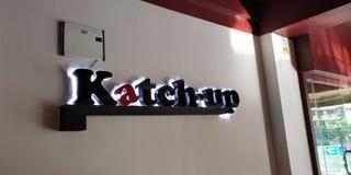 Дорога mysoor города Katchup Бангалора стоковые фотографии rf
