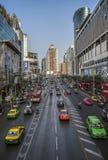 Дорога Pratunam Бангкок Phetchaburi Стоковые Фото
