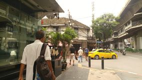 Дорога ` s Saladang в mornning стоковые изображения rf
