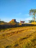 Дорога Sabana стоковая фотография