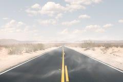 Дорога Sandy стоковые изображения