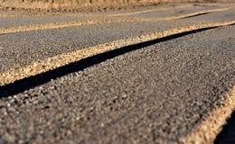 Дорога Sandy стоковое изображение rf