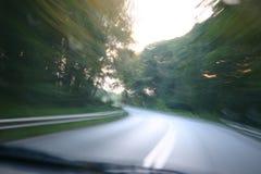 дорога sppedy Стоковое фото RF