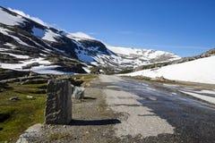 Дорога Strynefjellet в Норвегии Стоковое фото RF